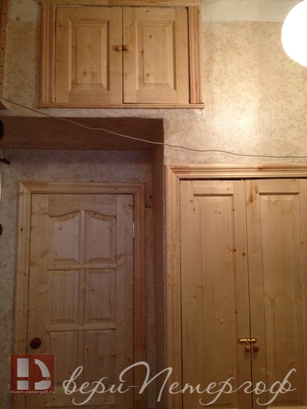 Входные деревянные двери в квартиру с установкой недорого