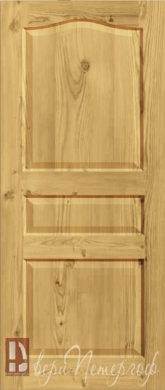 стальные двери из сосны